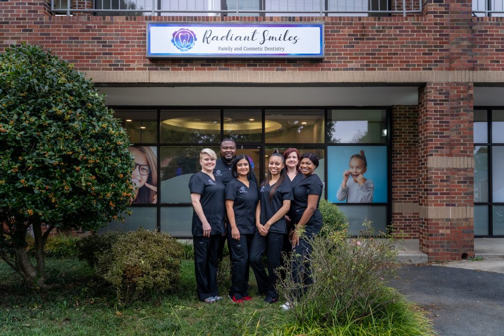 Talented staff of Radiant Smiles Family & Cosmetic Dentistry