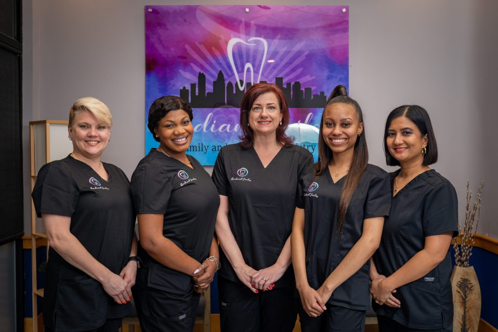 Radiant smiles family & cosmetic dentistry staff