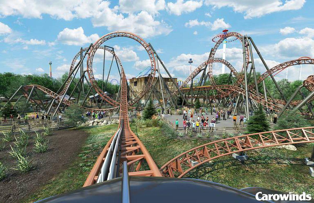 Carowinds Amusement Park, Pineville, NC