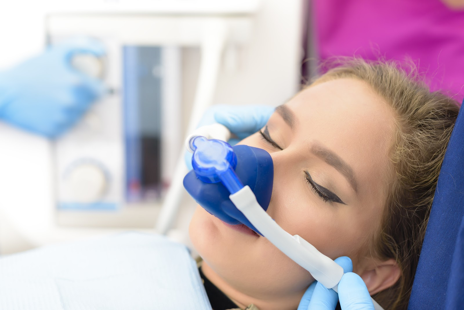 nitrous dental sedation in Pineville NC